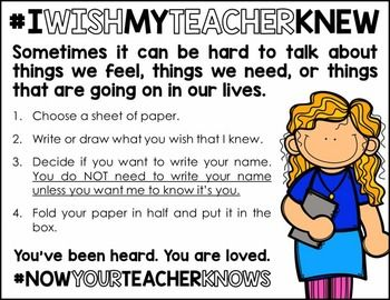 Thanks to Denver teacher Kyle Schwartz, many of us have begun to discover things that our students want us to know but have not before shared with us.