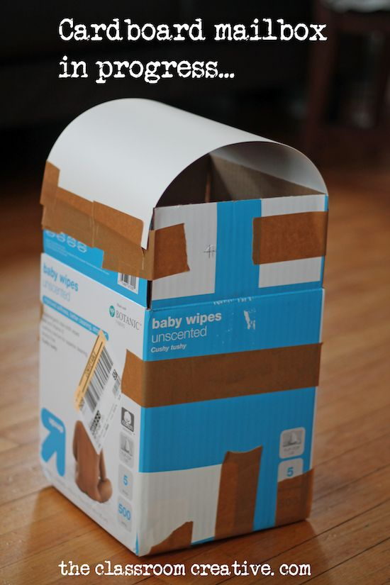 Cardboard Mailbox Craft for Valentineu0027s Day & 25+ unique Kids mailbox ideas on Pinterest | Kids playroom ideas ... Aboutintivar.Com