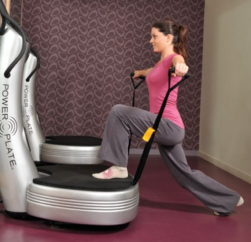 Cellulite-busting Power Plate moves