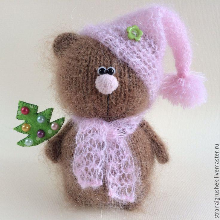 Купить Медвежонок . - бежевый, мишка, медвежонок, вязаный мишка, вязаная игрушка, мишки тедди