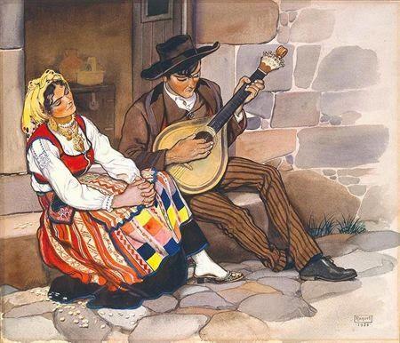 ComJeitoeArte: Lenços tradicionais portugueses - trajes típicos