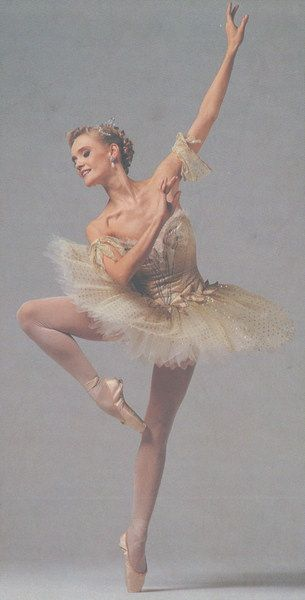 "Ballerina Anneli Alhanko. She is one of only 11 dancers to ever earn the rare and honored title ""Prima Ballerina Assoluta."""