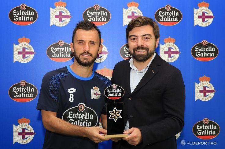 Emre Çolak: jugador Estrella Galicia del mes de septiembre! @Deportivo #9ine