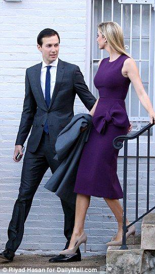 Jared Kushner supports Ivanka Trump on International Women's Day #dailymail