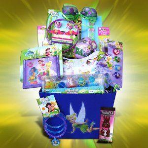 123 best easter basket images on pinterest easter baskets easter gift baskets for girls disney tinker bell arts crafts sewing negle Gallery