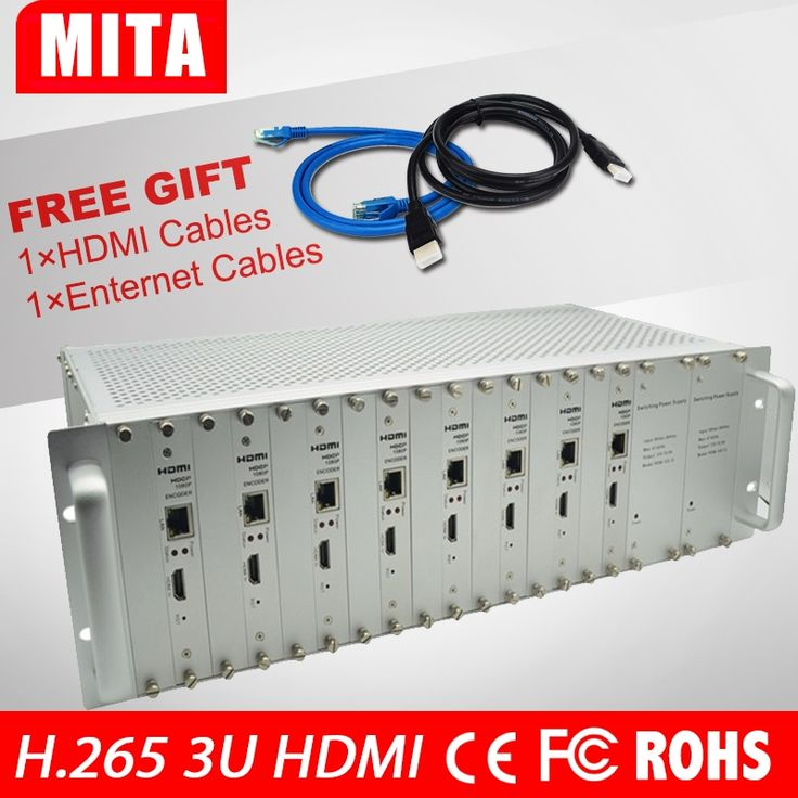 2263.20$  Watch here - DHL Free Shipping 8 Channels HDMI Encoder IPTV H.265 /H.264 Hardware HD Video To IP Encoder Support HTTP, RTSP, RTM  #aliexpresschina