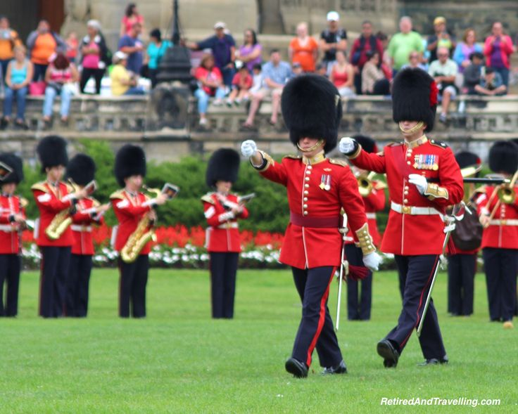 The Changing of the Guard on Parliament Hill in Ottawa is a great show!