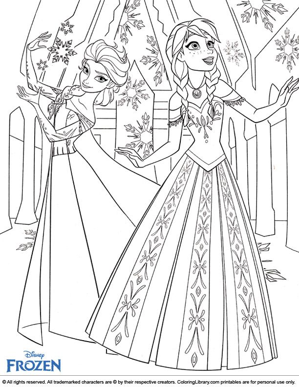 Beautiful Else Anna From Frozen Coloring Page Elsa Coloring Pages Disney Princess Coloring Pages Princess Coloring Pages