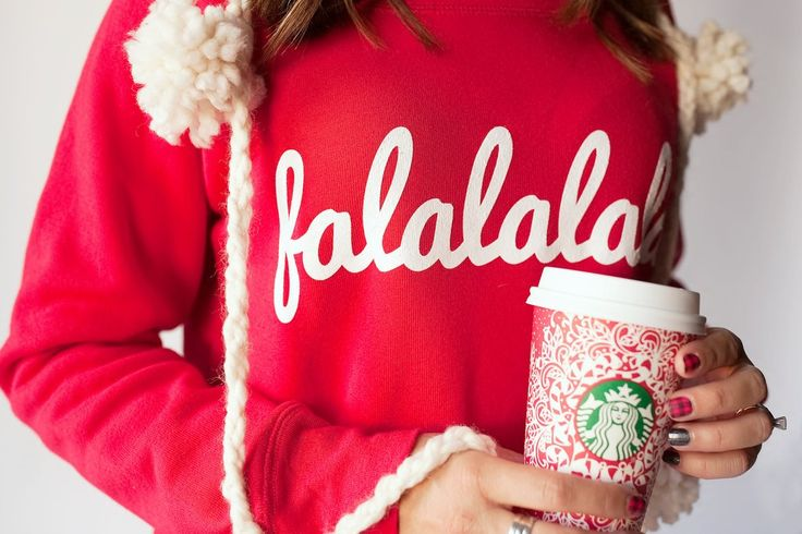 Christmas BRAND NEW falalalala Pullover Collaboration with Jessica Garvin - PREORDER
