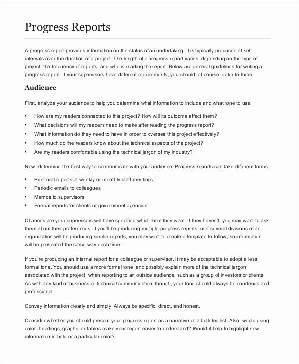 Formal Business Report Example Best Of 13 Formal Report Examples