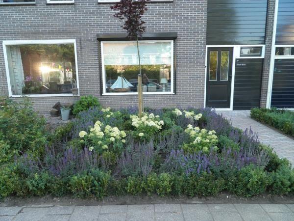 Voortuin rijtjeshuis google zoeken tuin pinterest for Mooie voortuinen foto s