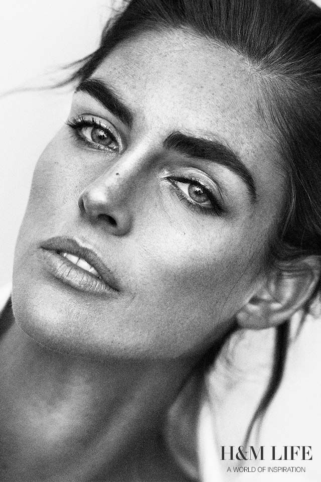 American beauty Hilary Rhoda on beauty secrets, breakfast habits and being comfortable in her own skin.   Read more at H&M Life