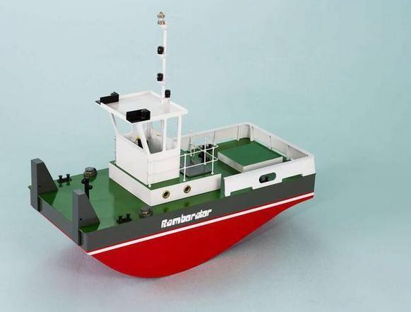 Aero-Naut Ramborator Wooden Boat Kit | Hobbies
