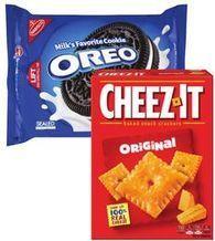 Sunshine Cheez-It 8-12.4 oz. or Nabisco Oreo Cookies 10.1-15.35 oz. from Meijer $5.00
