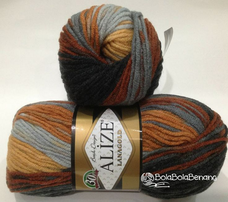 LANAGOLD BATIK 4248, Price: Rp.100.000,- /gulung, Bahan: 49% Wool – 51% Acrylic, Berat/Panjang: 100gr/240m, Knitting Needles: 4mm –6mm, Crochet hook: 5mm - 6mm