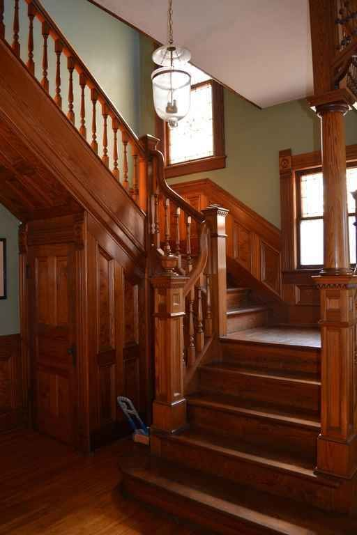 259 best images about victorian staircases on pinterest for Victorian woodwork