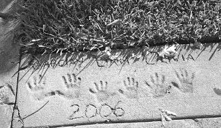 Must Get Handprints And Or Footprints In Concrete At New