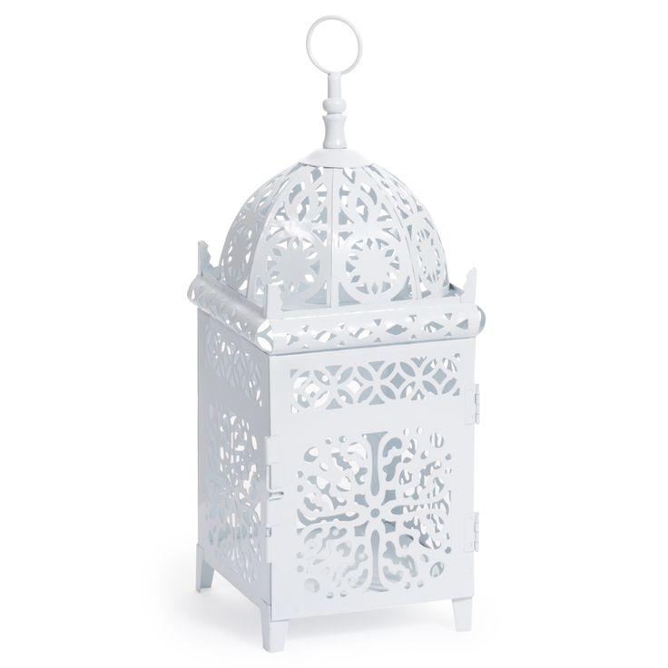 lanterne marocaine blanche petit mod le lanterns pinterest lanternes marocaines et. Black Bedroom Furniture Sets. Home Design Ideas