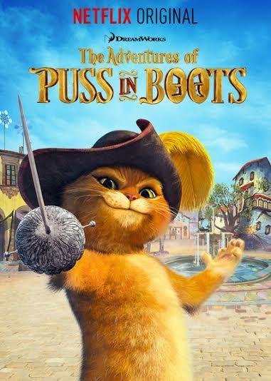 Get Adventurous with Puss in Boots on Netflix #streamteam #Netflixshows #kidsshows