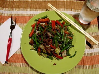 Paleo Stir-Fry Sauce  Ingredients:  3 tablespoons coconut aminos  2 tablespoons fresh OJ  2 teaspoons Chinese Five Spice Powder  1/2 teaspoon honey (if you're doing a strict Whole30, leave it out)  1 clove garlic, crushed  1/2 teaspoon chili garlic paste