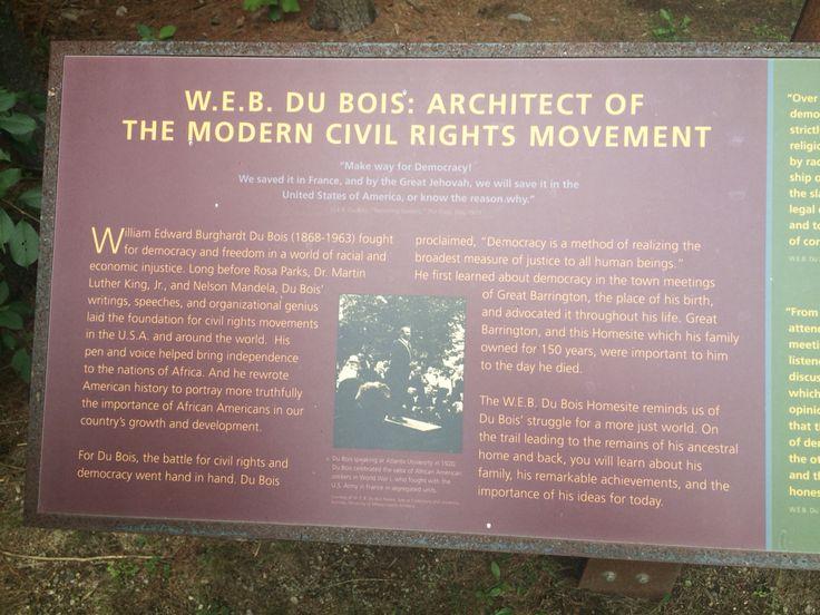 The boyhood homesite of WEB Du Bois is in Great Barrington Massachusetts, not too far from Olana.