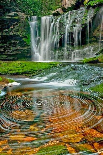 Black Water Falls, West Virginia                                                                                                                                                                                 More
