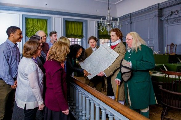 The Independence After Hours tour through Historic Philadelphia.
