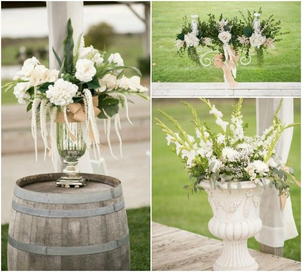 a stunning wedding with beautiful rustic and country wedding ideas
