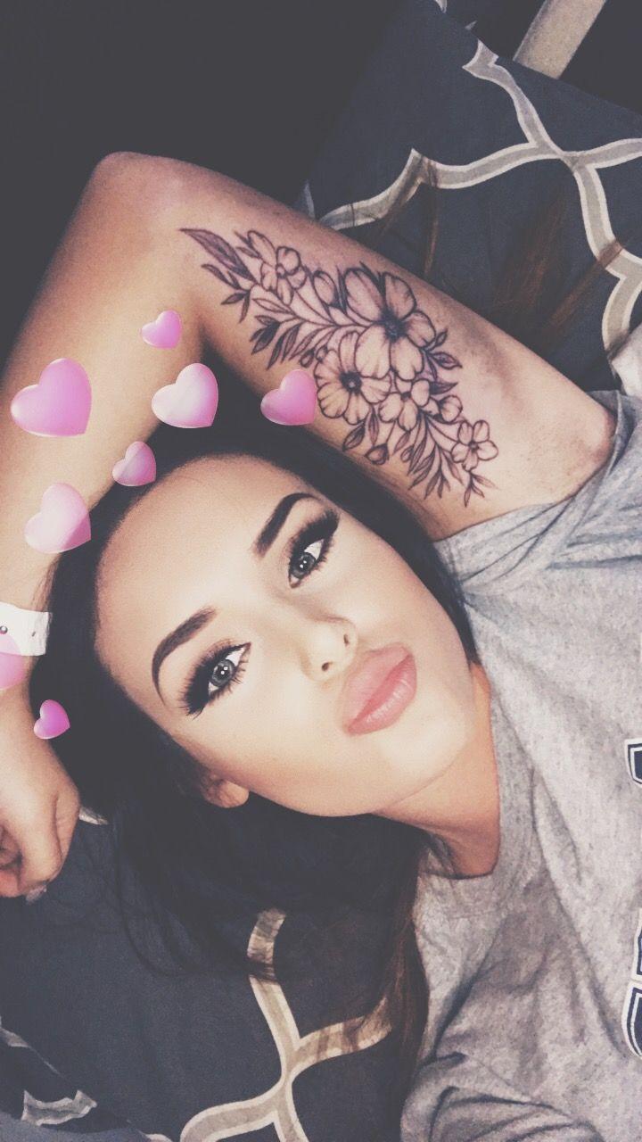 Under Memorial Piece Arm Tattoos For Women Tattoos For Women