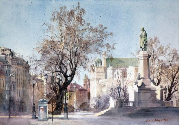Warszawa by Michal Orlowski