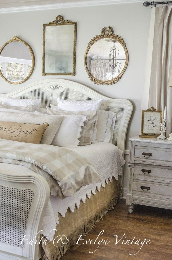 transformation master bedroom edith evelyn vintage wwwedithandevelynvintagecom - Vintage Bedroom Decor Ideas