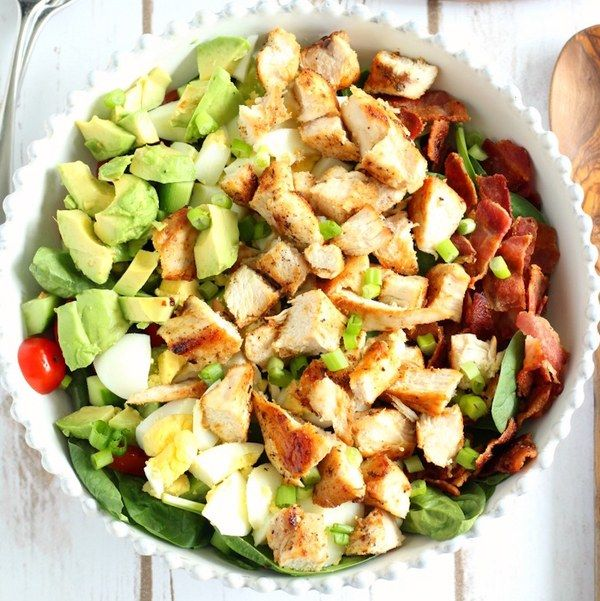 Cobb salads are the best salads. Making a Whole30-compliant version takes a little tweaking, but the end result is equally satisfying. Get the recipe here.