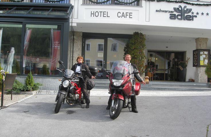 Spannend & erlebnisreich: Der Motorradurlaub im Hotel Schwarzer Adler