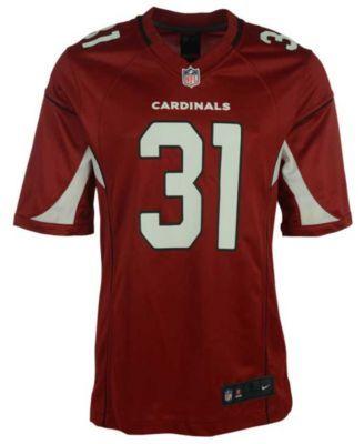 Nike Men's David Johnson Arizona Cardinals Game Jersey - Red XXL