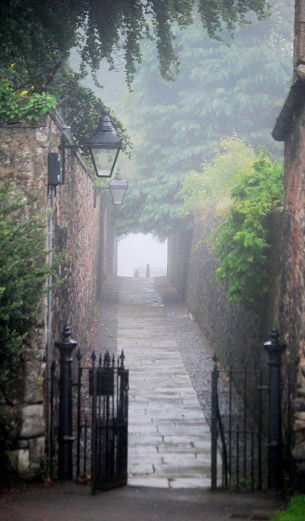Rassage in Duddingston Village.., Scotland