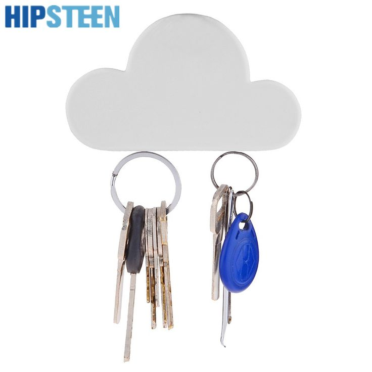 Marvelous HIPSTEEN Wall Key Holder Cloud Shaped Magnetic Shelf Key Hook Key Chains  Hanger For House Storage Good Looking