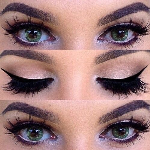 Imagem de eyes, makeup, and make up