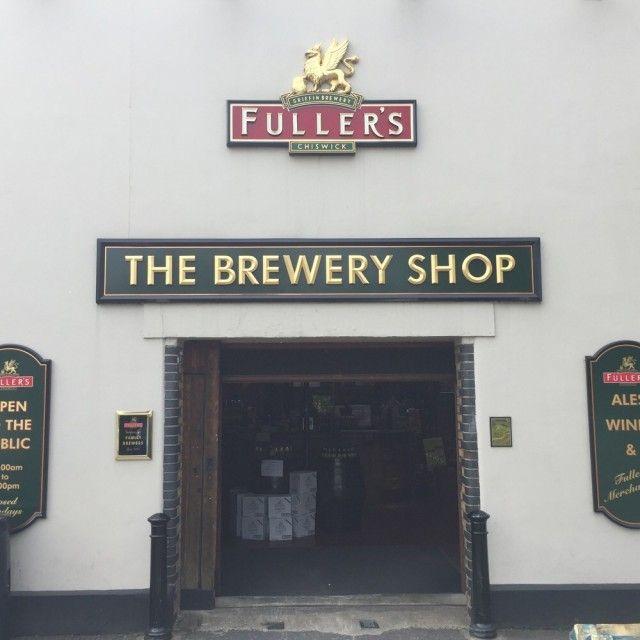 Fuller's Brewery Shop