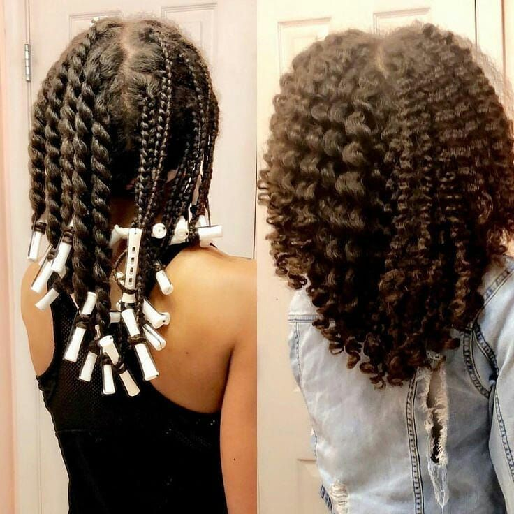 Twist Out Vs Braid Out With Images Braid Out Natural Hair