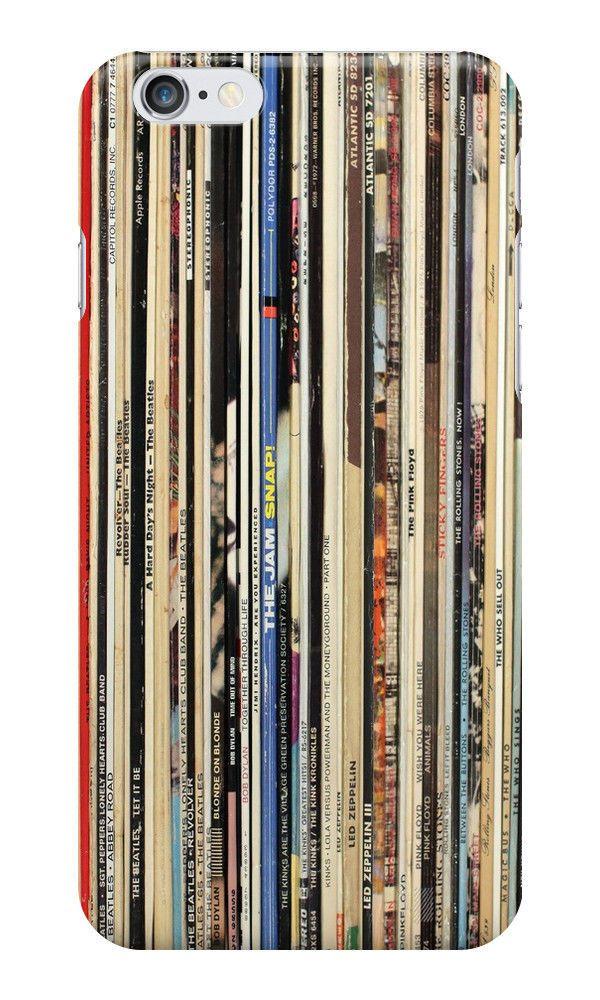 Iphone case 6 The Beatles Pink Floyd Rolling Stones Led Zeppelin Vinyl Record #AcousticAlternativeIndieBluesRockBritishInvasionBritpopFolkCountryRockGarageRockSingerSongwriterSoftRock