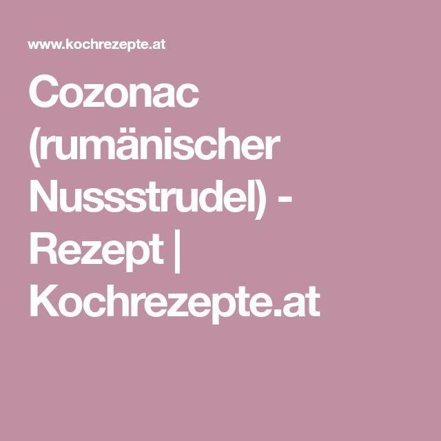 Cozonac (rumänischer Nussstrudel) - Rezept   Kochrezepte.at