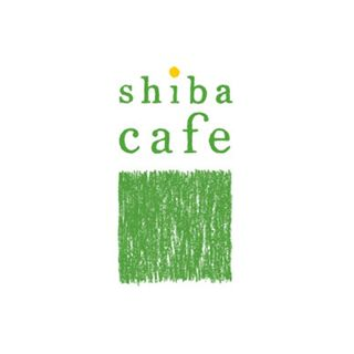 shiba-cafe(シバカフェ)のロゴマーク。 日本橋で働く女性がターゲットのおしゃれカフェ。