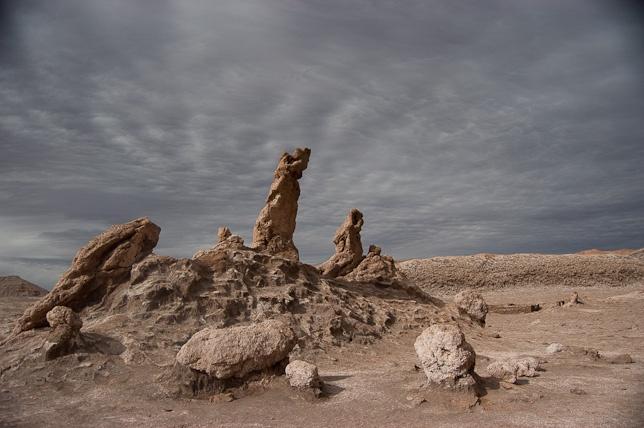 Tres Marías, Valle de la Luna