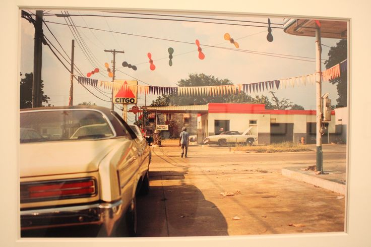 William Eggleston made these photographs in and around Plains, Georgia--and along the route of his journey there from Mississippi--on the eve of the 1976 Presidential election.