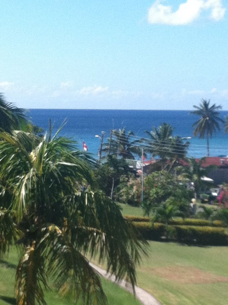 View of Caribbean from Timothy Beach Condo, St. Kitts