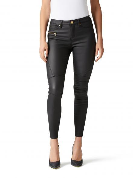 Tula coated skinny 7/8th jean