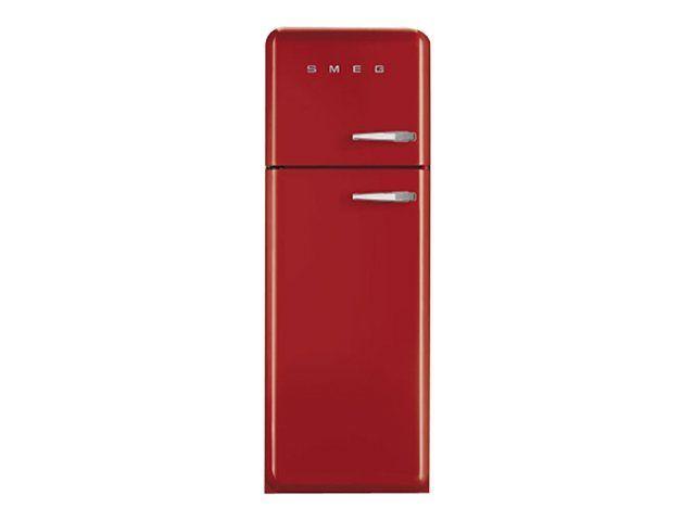Réfrigérateur Combiné Smeg Fab30lr1 - Classe A++ Rouge pas cher