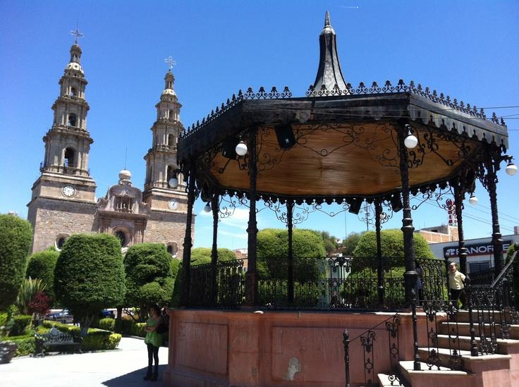 Plaza Constitución, Encarnación de Díaz