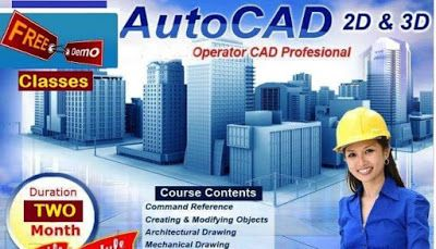 Softcrayons offers exclusive AUTOCAD Training & certifications programs with live projects by industry experts In Noida,Ghaziabad,Gurgaon.