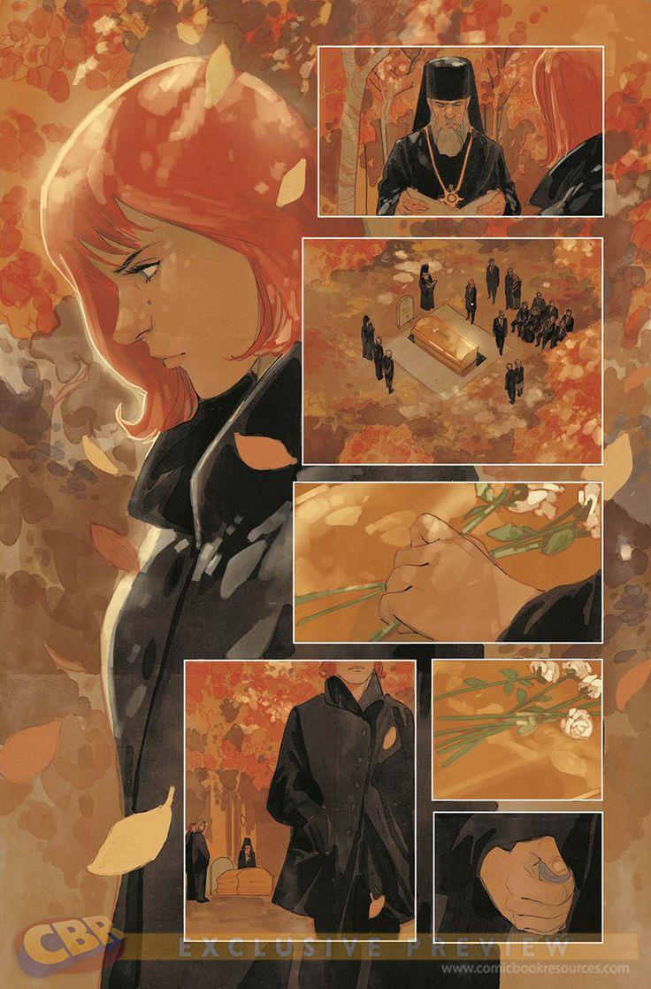 black widow comic strip - photo #9